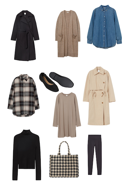 H&M women fall clothes