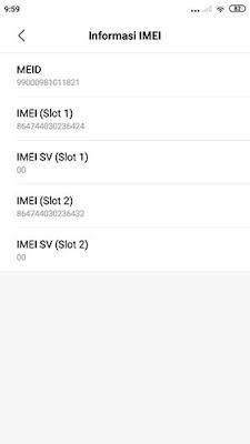 Cara Cek IMEI HP Xiaomi 4