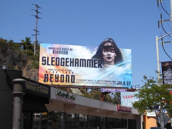 Rihanna Sledgehammer Star Trek Beyond song billboard