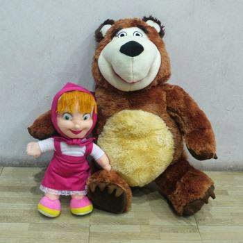 Gambar Masha and The Bear Boneka Lucu Funny Dolls