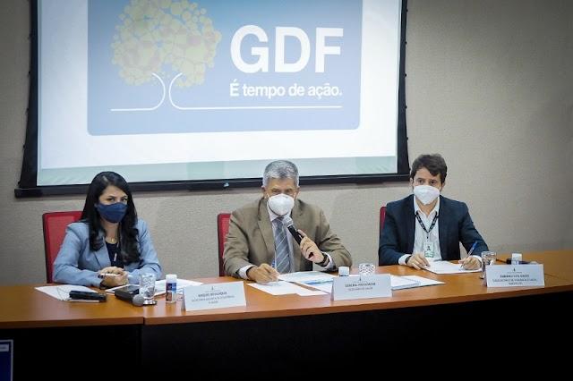 O GDF antecipa vacinação de quem tem data marcada até 24 de setembro! Confira