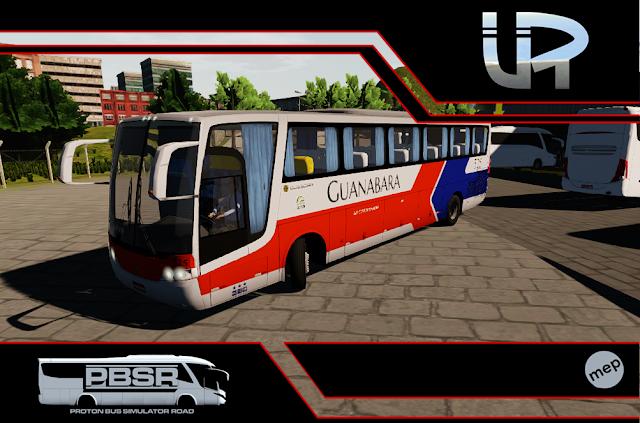 Skin Proton Bus Simulator Road - Vissta Buss LO O-500 RS Viação Guanabara