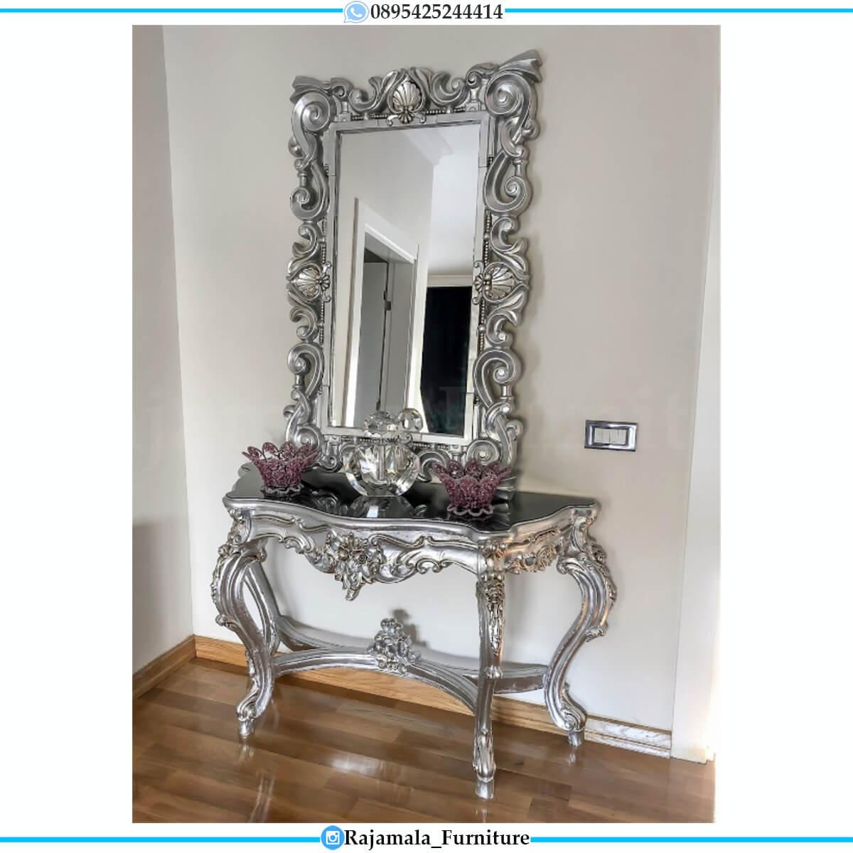 Harga Meja Konsol Mewah Classic Luxury Carving Jepara RM-0671