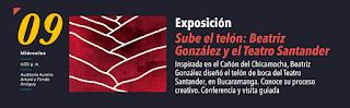 Exposición de Beatriz González y el Teatro Santander