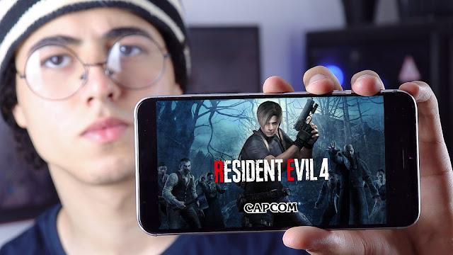 resident evil 4 للاندرويد