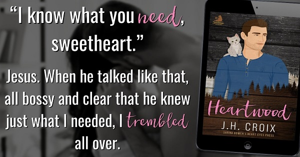 """""""I know what you need, sweetheart.""""     Jesus. When he talked like that, all bossy and clear that he knew just what I needed, I trembled all over."""