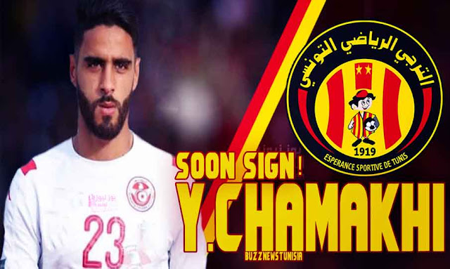 yassine chamakhi will soon sign a new contract with ES TUNIS