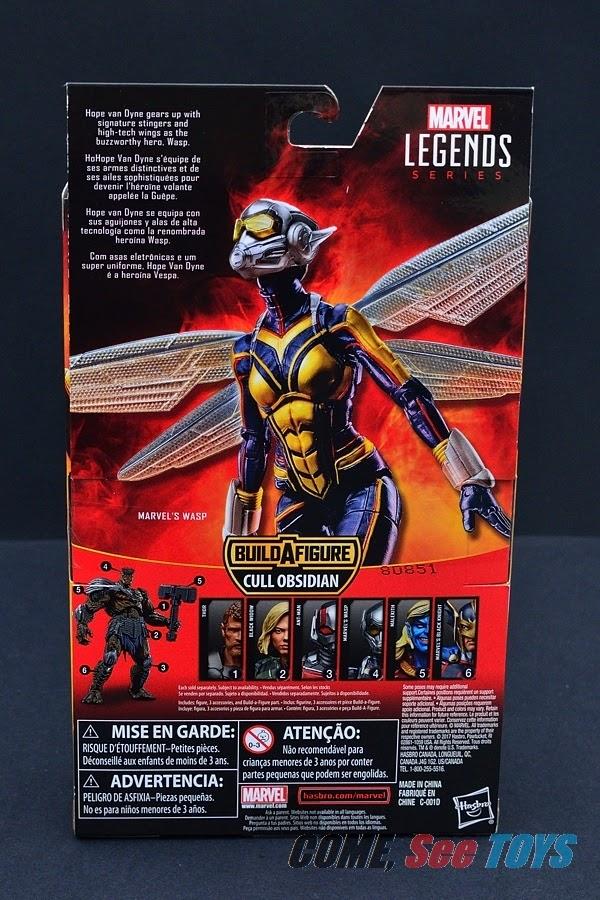 WASP Marvel Legends Series Ant-Man et la guêpe-BAF Cull Obsidienne