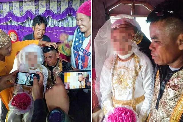 Сеть шокировали снимки со свадьбы 13-летней девочки, которую выдали замуж за 48-летнего фермера