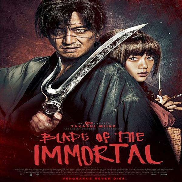 Blade of the Immortal, Blade of the Immortal Synopsis, Blade of the Immortal Trailer, Blade of the Immortal Review, Poster Blade of the Immortal