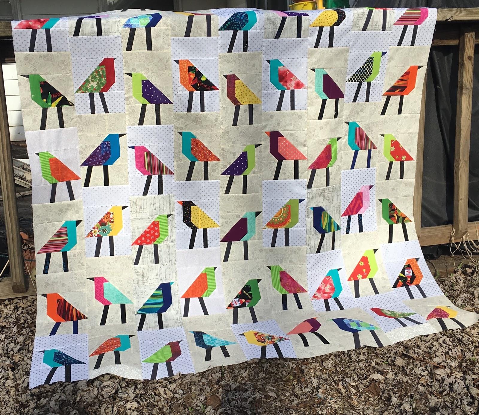 Sew Preeti Quilts: He Tweeted, She Tweeted... : bird quilt - Adamdwight.com