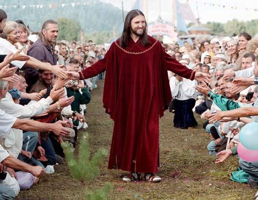 Homem diz ser a reencarnação de Jesus Cristo e arrasta multidões de fiéis na Rússia