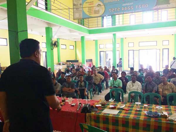 CALEG Dapil 4 Bekasi Nurfahroji Sosialisasikan BPJS Pada Warga Karang Satria