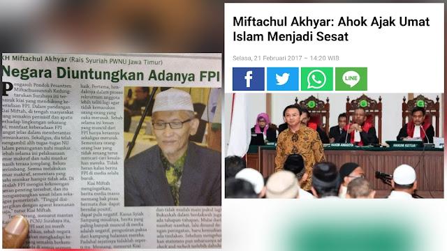 Ketua MUI yang Baru, Dukung FPI Berantas Kemunkaran hingga Sebut Ahok Sesatkan Umat