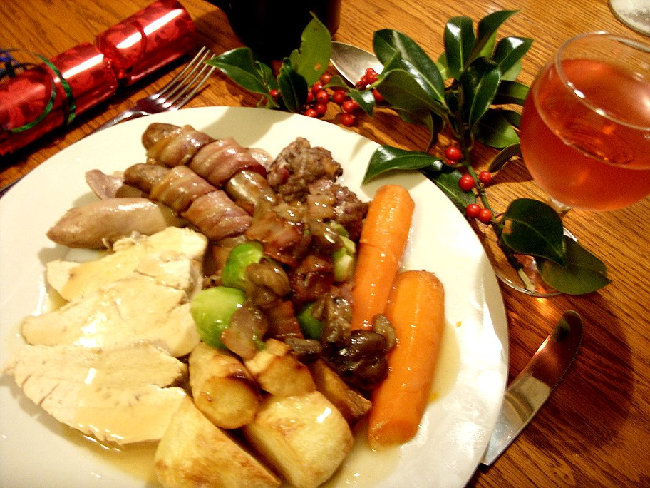 Jenny eatwell 39 s rhubarb ginger roasted kelly bronze for Thanksgiving dinner with all the trimmings