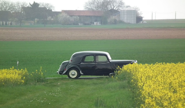 Citroen Traction Avant 11.  Indre et Loire, France. Photographed by Susan Walter. Tour the Loire Valley with a classic car and a private guide.