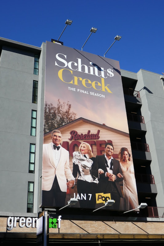 Schitt's Creek final season 6 billboard
