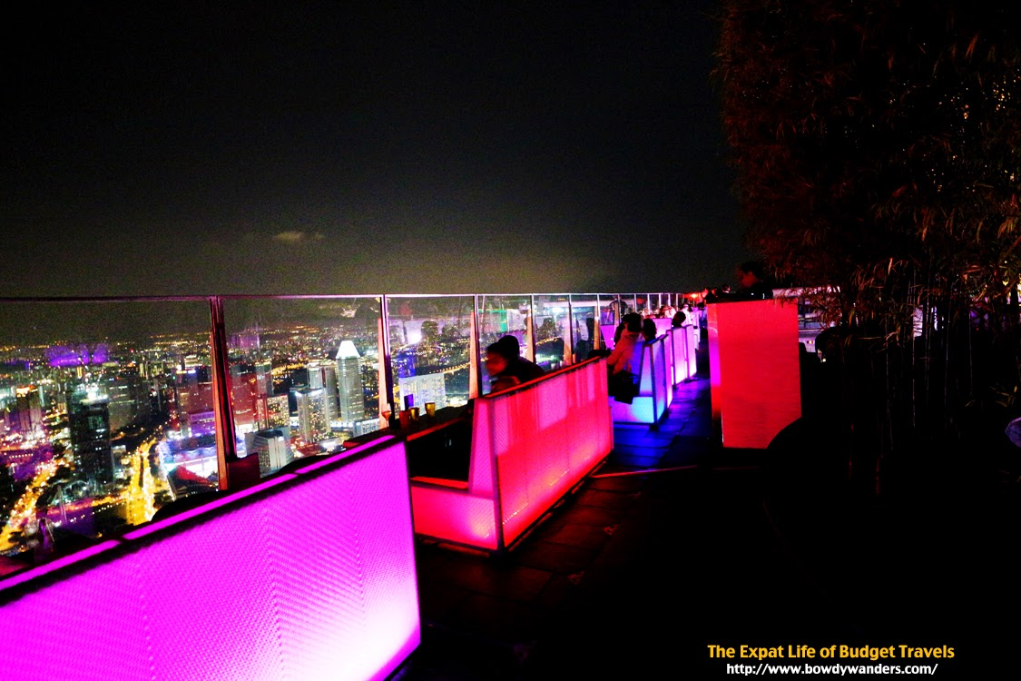bowdywanders.com Singapore Travel Blog Philippines Photo :: Singapore :: 1 Altitude, Raffles Place – The World's Highest Alfresco Bar