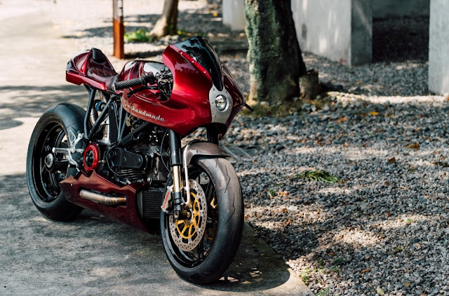 Ducati MH900 By One Hand Made Cycle Hell Kustom