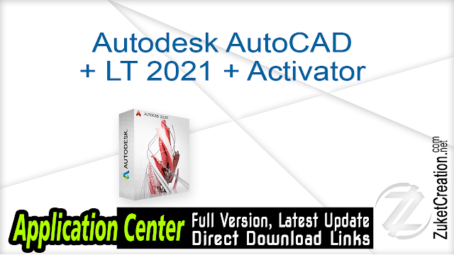 Autodesk AutoCAD + LT 2021 + Activator