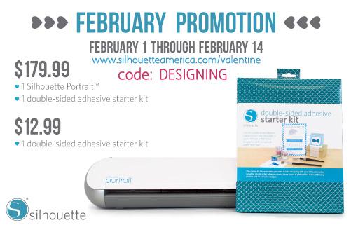 silhouette promotion feb2013 designing Silhouette SALE! 7