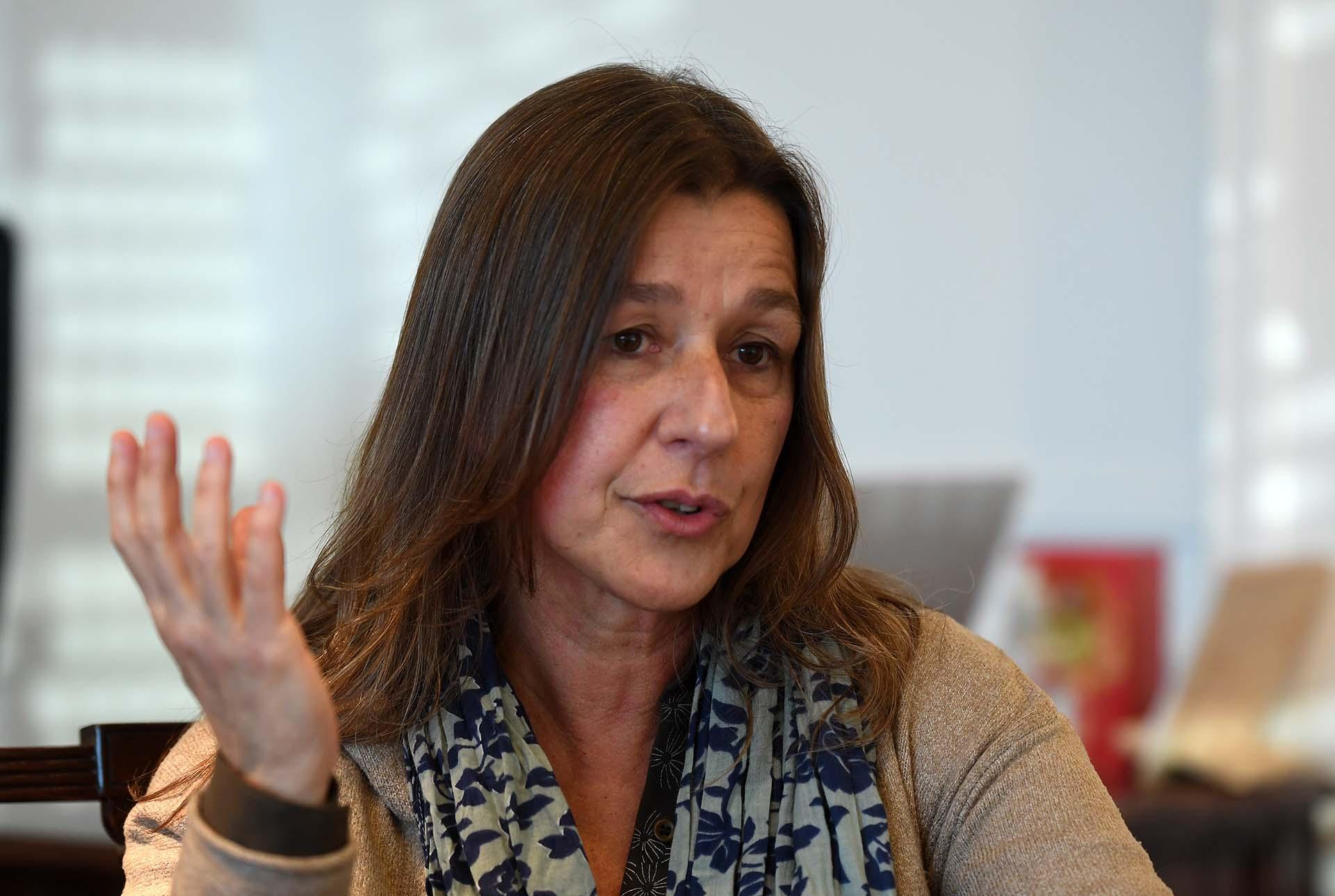Sabina Frederic también se diferenció del Presidente y criticó a la profesora K que adoctrina estudiantes