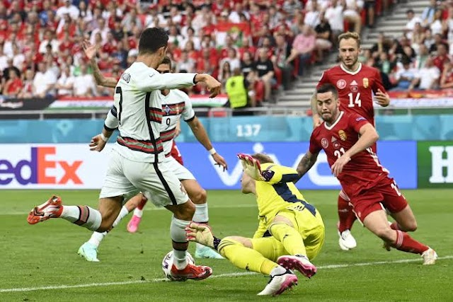 Defending Champions Portugal defeats Hungary