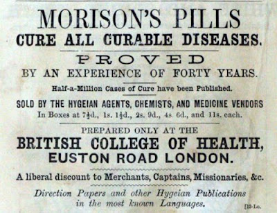 Morison's Pills Cure All Curable Diseases