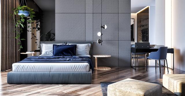 غرف نوم حديثة مع نصائح لمساعدتك على تصميم غرفة نومك