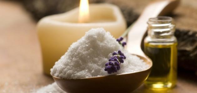 زيت الزيتون مع الملح