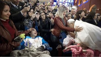 El Papa Francisco y el Evangelio de Hoy según Mateo 15, 21-28