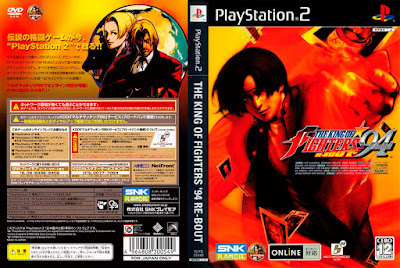 Jogo The King of Fighters '94 Re-Bout PS2 DVD Capa