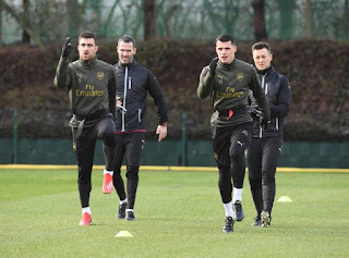 latest arsenal injury news sokratis, xhaka, mustafi