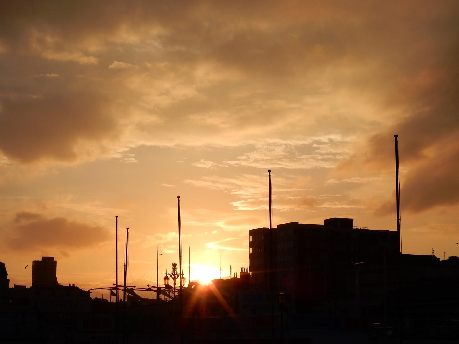 Brighton Beach Sunset Life Lately Adventures of a London Kiwi