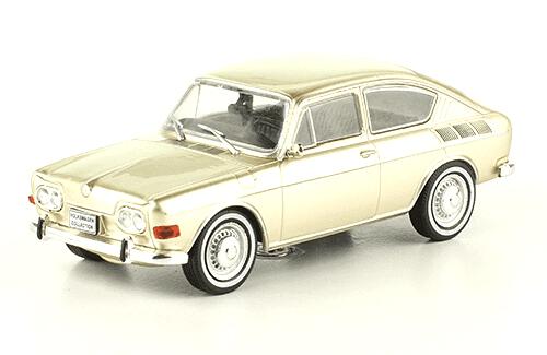 volkswagen 1600 TL 1970 1:43, volkswagen collection, colección volkswagen méxico