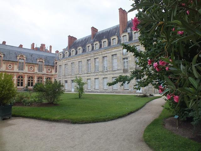 visitar el palacio en Fontainebleau