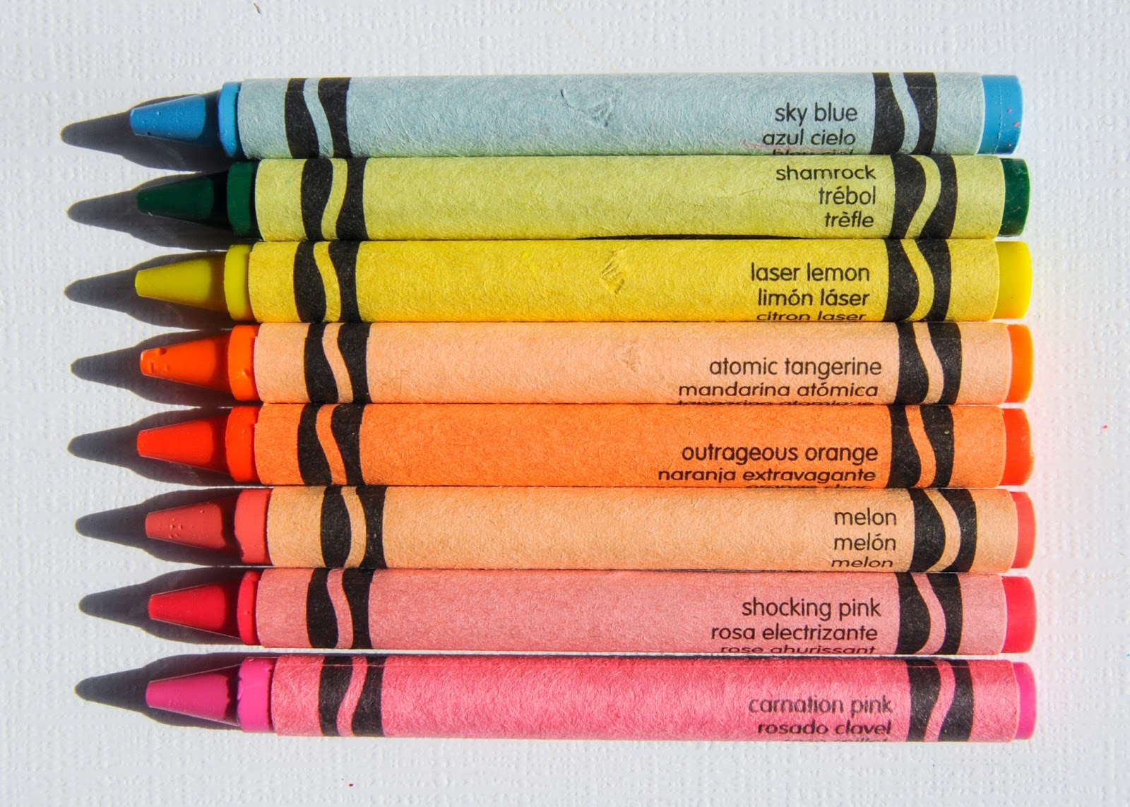 Crayola Neon Crayons What S Inside The Box