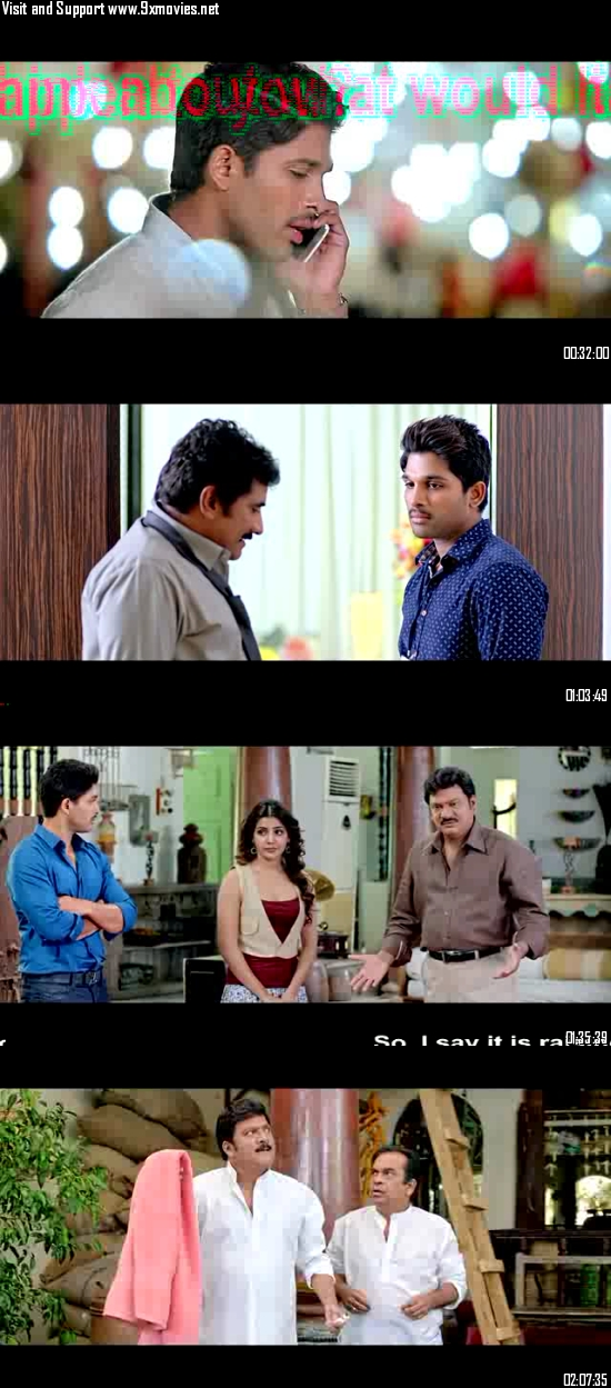 S/O Satyamurthy 2016 Dual Audio Hindi 720p BluRay