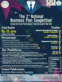 The 2nd National Business Plan Competition HIMAMA UMY