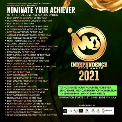 Entertainment Gist  :  Independence Heros Award