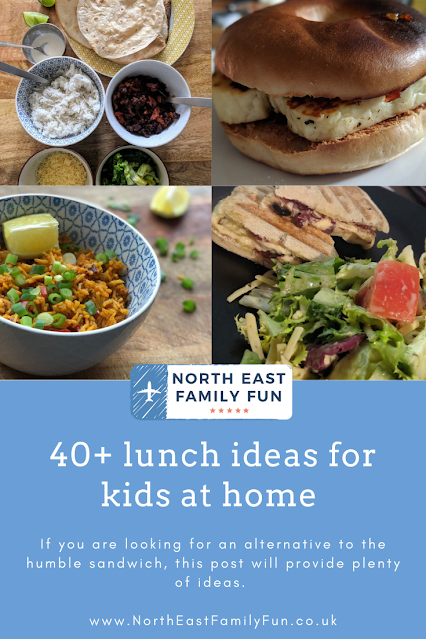 40+ lunch ideas for kids at home