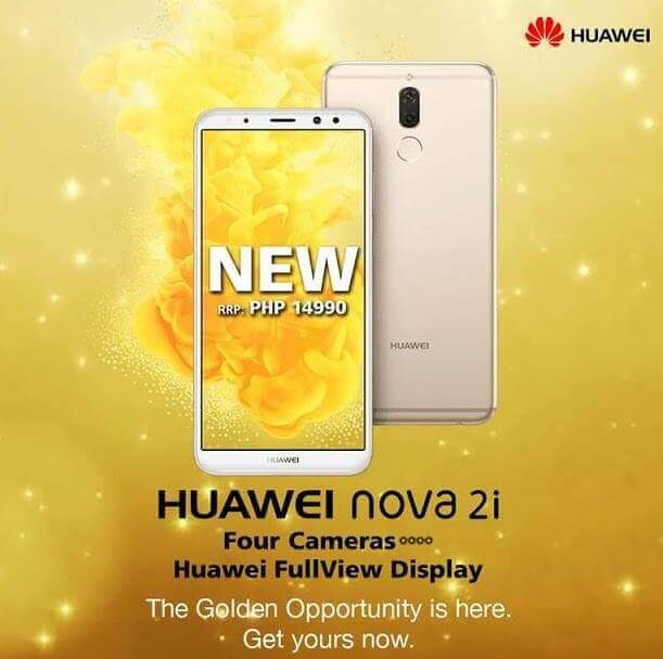 Huawei Outs Nova 2i Prestige Gold Variant in PH