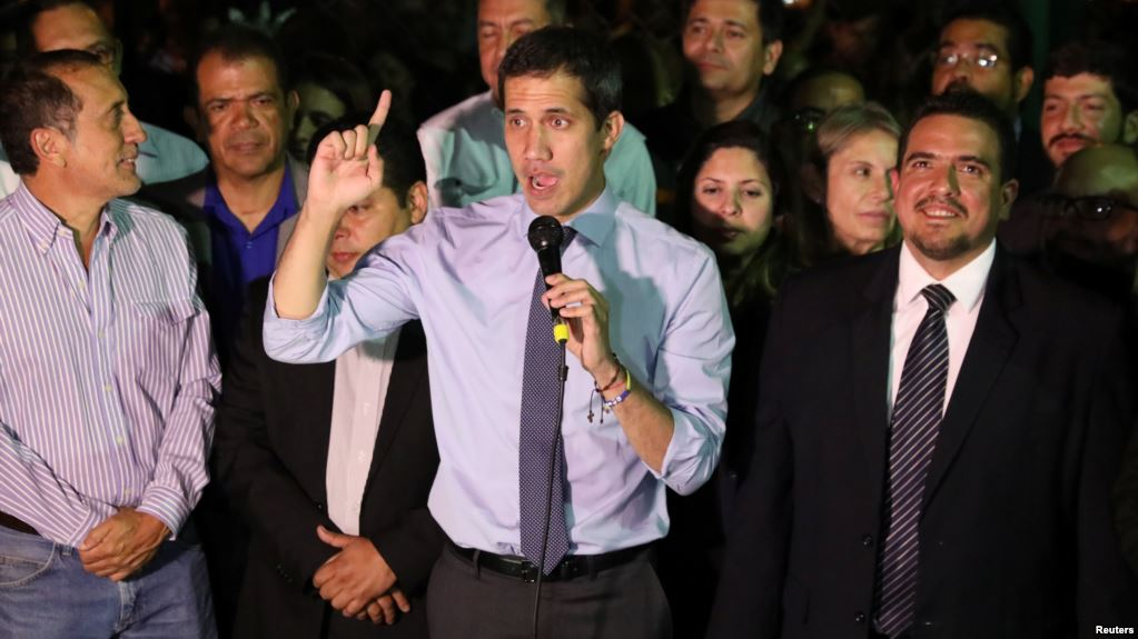 Juan Guaidó se convirtió en emblema de la resistencia en Venezuela / AP
