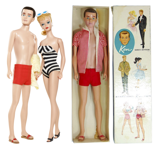 Ken, Barbie's boyfriend 1961