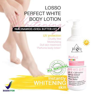 Losso Body Lotion Perfect Whitening Ori