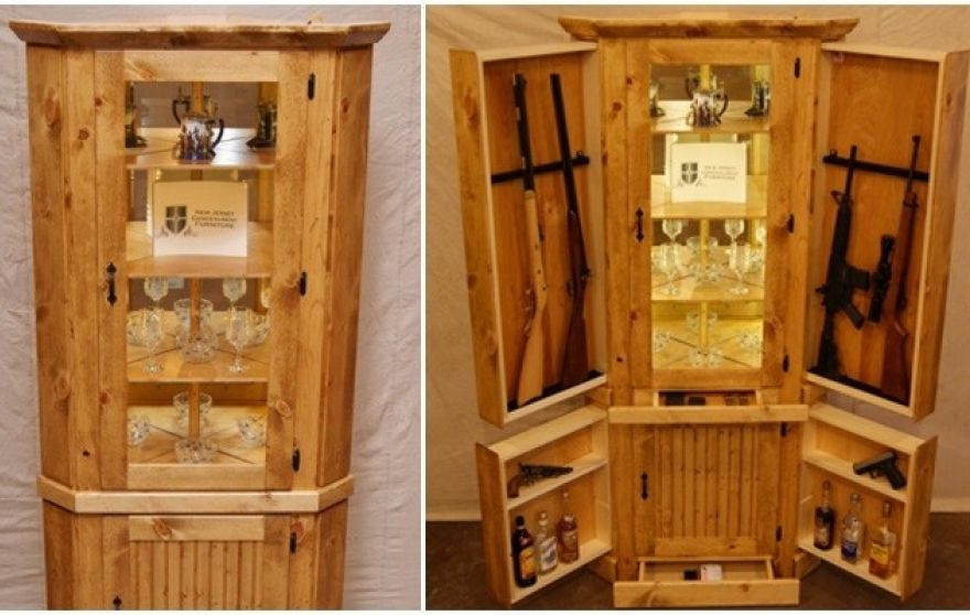 The vulgar curmudgeon gun concealment furniture goes main for Bedroom furniture gun safe
