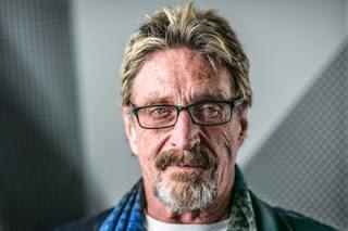 Biografi John McAfee - Pembuat Anti Virus Komputer McAfee