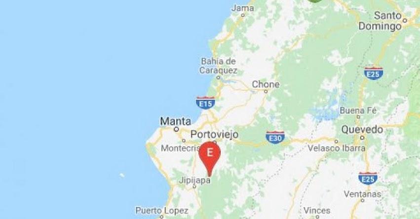 TEMBLOR en Ecuador de Magnitud 4.2 (Hoy Viernes 17 Agosto 2018) Terremoto Sismo EPICENTRO - Jipijapa - Manabi - www.igepn.edu.ec