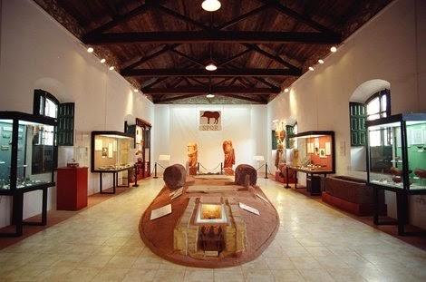 Interior del Museo. Fuente web Fundación de Río Tinto