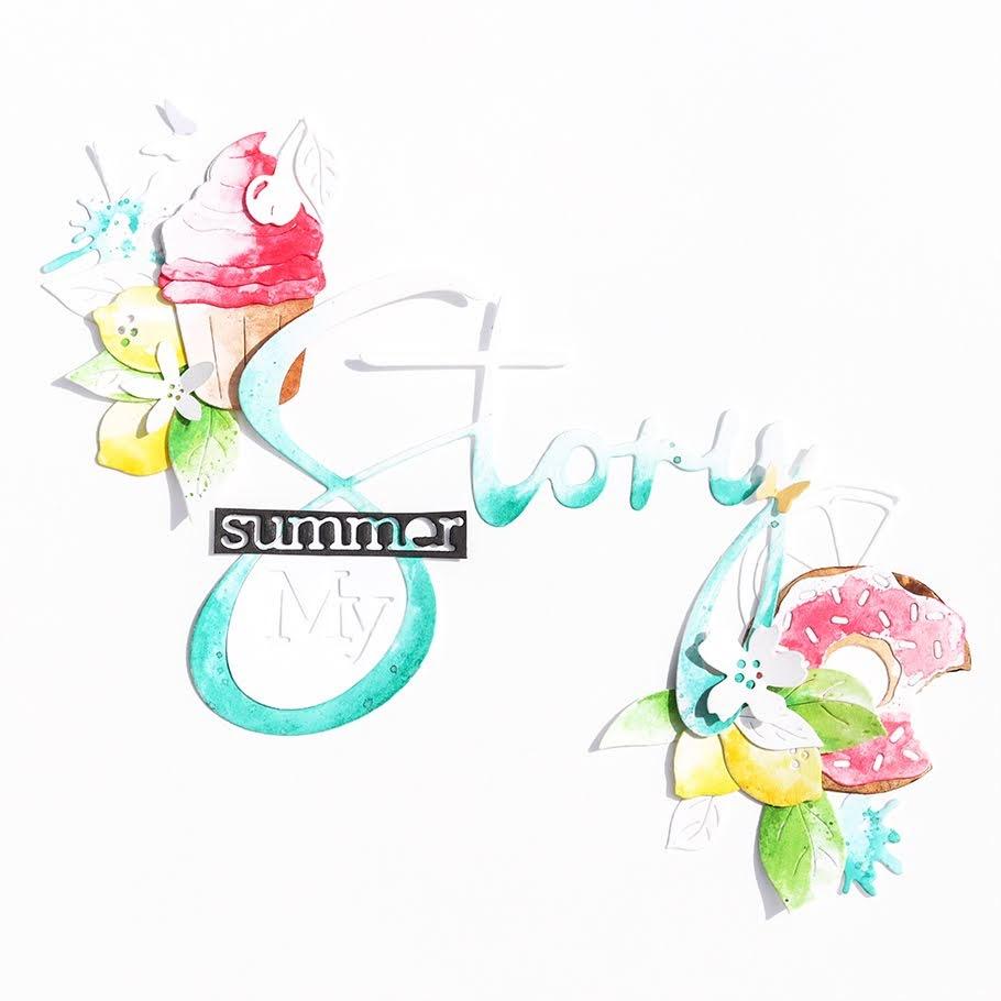 Mini Album-Summer-Story - Alexandra Renke